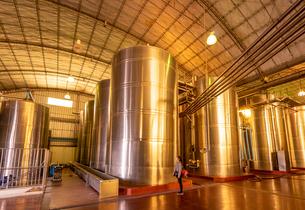 ワイン工場、アルゼンチンの写真素材 [FYI03378287]