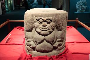 石彫力士 寧夏西夏王陵出土の写真素材 [FYI03379190]