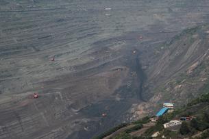 西露天掘り炭鉱の写真素材 [FYI03379322]