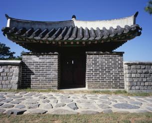 華城の西砲楼の写真素材 [FYI03380026]