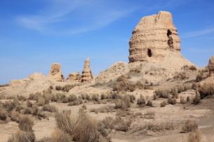 鎖陽城塔爾寺の写真素材 [FYI03380285]