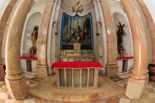 ヴィア・ドロローサⅡ鞭打ちの教会の写真素材 [FYI03380333]