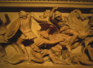 アレキサンダーの石棺の写真素材 [FYI03380697]