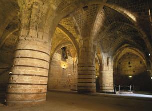 十字軍の地下の町の写真素材 [FYI03380740]