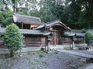 鏡神社の写真素材 [FYI03380998]