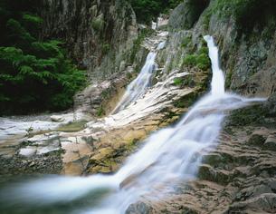 犬戻りの滝 犬戻峡の写真素材 [FYI03381037]