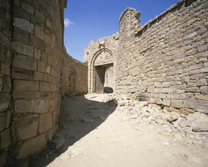 トゥーラ村の出口の門の写真素材 [FYI03381373]