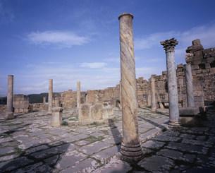 ジェミラ考古遺跡(コシニウス市場)の写真素材 [FYI03381637]