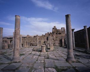ジェミラ考古遺跡(コシニウス市場)の写真素材 [FYI03381662]