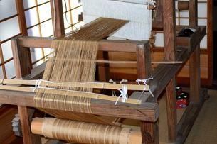 カイコの機織り機の写真素材 [FYI03382158]