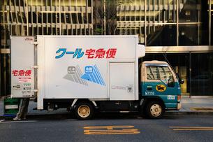 冷凍冷蔵車の写真素材 [FYI03382216]