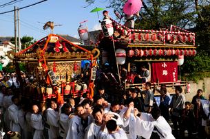 麻賀多神社の例大祭の写真素材 [FYI03382252]