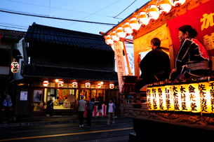 麻賀多神社の例大祭の写真素材 [FYI03382253]