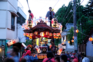麻賀多神社の例大祭の写真素材 [FYI03382267]