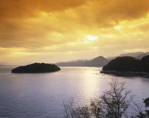 伊根浦と青島の写真素材 [FYI03382346]