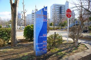 臨海公園 水準標の写真素材 [FYI03382446]