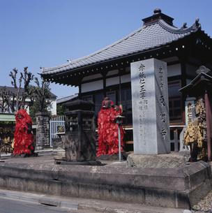 東覚寺 赤紙仁王の写真素材 [FYI03382562]