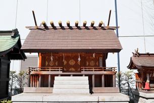 成子天神社境内の天照大神日本祖社の写真素材 [FYI03382695]