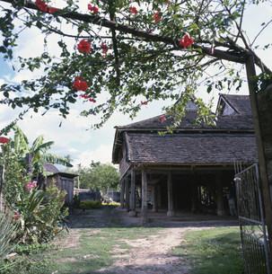 民族風情園のタイ族の家の写真素材 [FYI03383159]