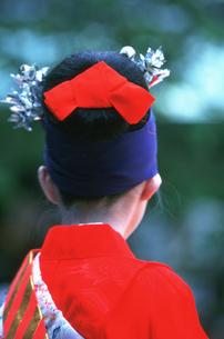 小町踊 白峯神宮精大明神例祭の写真素材 [FYI03383191]