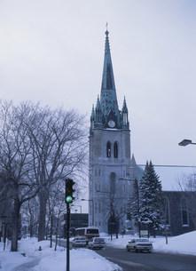 トロワ・リビエール聖堂の写真素材 [FYI03383268]