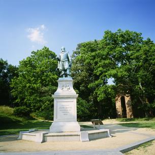 ジョン・スミス像の写真素材 [FYI03383298]