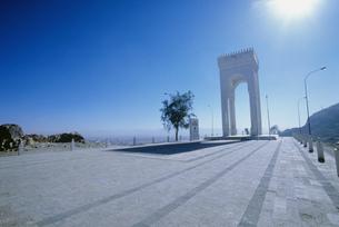 エジプト兵士の記念碑の写真素材 [FYI03383382]
