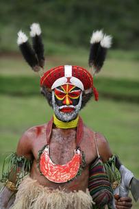 マウント・ハーゲンのシンシン クナナ族の写真素材 [FYI03383415]