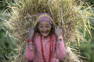 グルン族のお婆さんの写真素材 [FYI03383428]