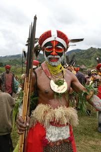 マウント・ハーゲンのシンシン クナナ族の写真素材 [FYI03383435]