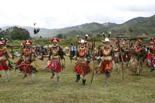 マウント・ハーゲンのシンシン クナナ族の写真素材 [FYI03383453]