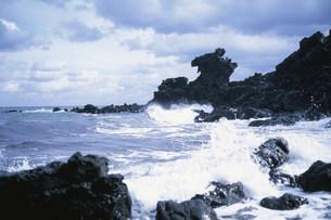 竜頭岩の写真素材 [FYI03383528]