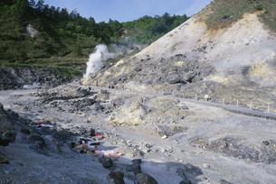 玉川温泉 地獄地帯の写真素材 [FYI03383558]