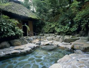 花屋ホテルの露天風呂の写真素材 [FYI03383573]