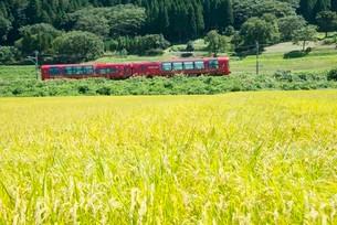 えちごときメキ鉄道特別列車 雪月花の写真素材 [FYI03383843]