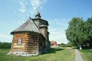 木造建築博物館の写真素材 [FYI03384235]