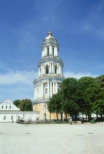 ペチェールスカ大修道院の大鐘楼の写真素材 [FYI03384236]