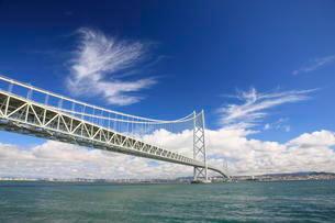 明石海峡大橋 淡路島の写真素材 [FYI03384962]
