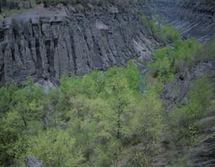 白頭山の天軍岩の写真素材 [FYI03384986]