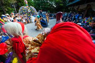 三谷神社の祭りの写真素材 [FYI03385140]