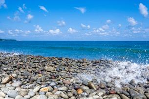 鳴り石の浜の写真素材 [FYI03385172]