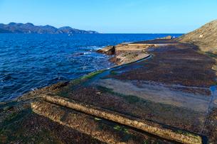 十六島の海苔島の写真素材 [FYI03385214]