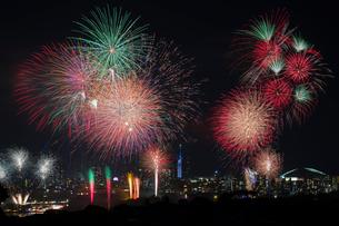 西日本大濠花火大会の写真素材 [FYI03385295]