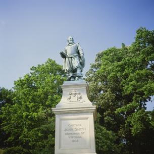 ジョン・スミス像の写真素材 [FYI03385366]