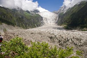 貢嗄山 海螺溝大氷河の写真素材 [FYI03385386]