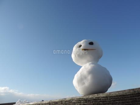 雪だるま 4の写真素材 [FYI03385647]