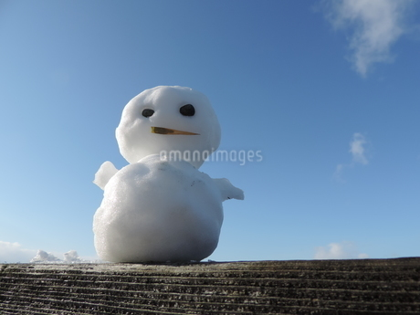 雪だるま 2の写真素材 [FYI03385652]