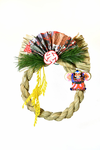 正月飾りの写真素材 [FYI03386091]