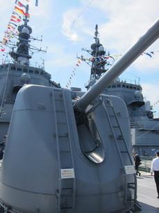54口径127mm単装速射砲の写真素材 [FYI03386312]