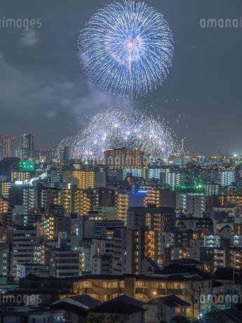 淀川花火の写真素材 [FYI03386316]